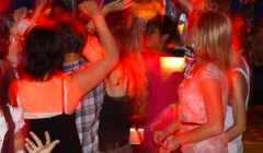 Chill out at our exciting private student disco with live DJ and dance floor