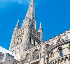Discover and explore the exciting city of Norwich in your free time