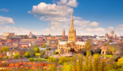 Norwich: there's no better place to study English in the summer.